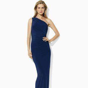 Ralph Lauren Formal One Shoulder Dress